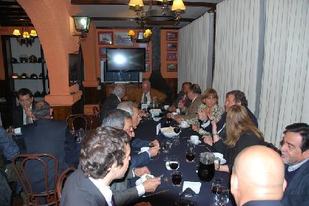CENA PARA VOLUNTARIOS PREMIADOS CLUB DE LEONES Y ROTARY CLUB