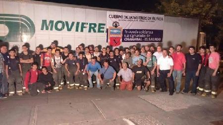 CON GRAN ÉXITO FINALIZA CAMPAÑA DE RECOLECCION PARA AYUDA A BOMBEROS DE CHAÑARAL