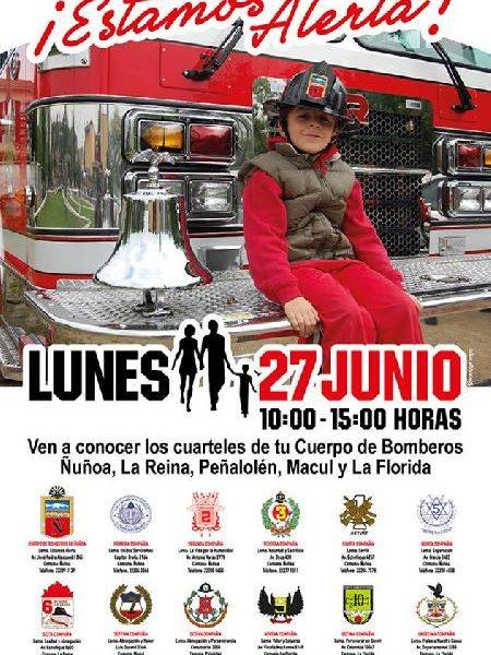 ESTE LUNES 27 CELEBRAMOS EL DÍA DEL BOMBERO