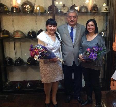 CENA EN HOMENAJE A PREMIADOS POR CLUB DE LEONES Y ROTARY CLUB