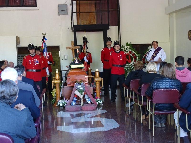 FUNERAL DE NUESTRO VOLUNTARIO GUILLERMO MUÑOZ FERNÁNDEZ (Q.E.P.D)