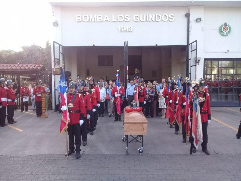 FUNERAL DE NUESTRO VOLUNTARIO ALBERTO GONZALEZ RIQUELME (Q.E.P.D)